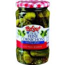 Großhandel Nahrungs- und Genussmittel: Hofgut feine cornichons 370ml Glas
