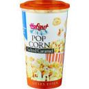 Großhandel Süßigkeiten: Hofgut popcorn salted caramel 70g Becher