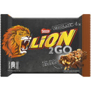 lion 2go chocolate 4er 132g