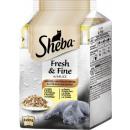 grossiste Jardin et bricolage: Sheba Fresh & Fine Sac de jardin 6x50g