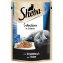 sheba Selection tuna in sauce 85g