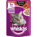 Whiskas 1 + creamy soups beef 85g