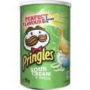 Großhandel Lebensmittel: pringles sour cream + onion 70g Dose