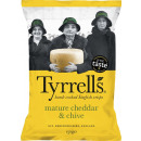 tyrrells chips cheese + ch. 150g bag