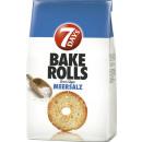 7days bake rolls meersalz 250g Beutel