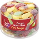Großhandel Nahrungs- und Genussmittel: red band Fruchtgummi zungen sauer 100st Dose