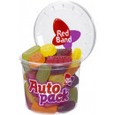 wholesale Food & Beverage: red band autopack fruit gum assort200g can