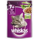 Whiskas 7 + ragout lamb 85g pb bag