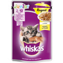 Whiskas junior ragout chicken 85g pb