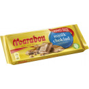 Marabou whole milk chocolate. 250g blackboard