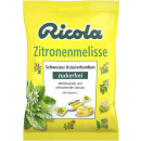 Ricola lemon balm without sugar 75g bag