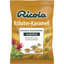 wholesale Other: Ricola herbal caramel without sugar 75g bag