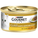 gourmet gold hp chicken + liver 85g can