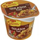 Großhandel Nahrungs- und Genussmittel: Maggi 5min terr nudel gulasch 57g Becher