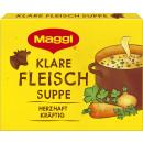Maggi clear meat soup 4l bag