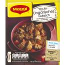 Maggi aggiusta la borsa ungherese di goulash 56g
