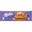 milka peanut caramel 276g blackboard