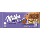 milka waves caramel 81g blackboard