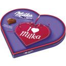 i love milka hazelnuts. heart 165g