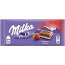 milka yaourt aux fraises tableau noir 100g