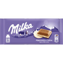 milka alps milk cream 100g blackboard