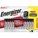 Energizer max Alkaline aaa 12s 36
