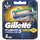 wholesale Shaving & Hair Removal: Gillette fus.power Pro Glide Blades 4s