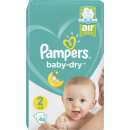 wholesale Toiletries: pampers baby dry gr.2 46s