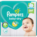 wholesale Toiletries: pampers baby dry gr.4 + 31s