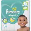 pampers baby dry gr.5 + 28er