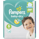 wholesale Toiletries: pampers baby dry gr.6 26er