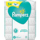 pampers cloth sensitive 5x52er
