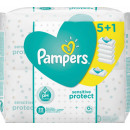 pampers tuch sensitive 5 + 1