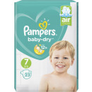 pampers baby dry gr.7 23s