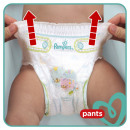 Pampers ez baby dry ez pants size 7, pack of 21
