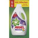 ariel Flasche color 100 Waschladungen Flasche