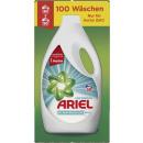 ariel Flasche febreze 100 Waschladungen Flasche