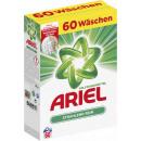 Großhandel Wäsche: ariel regulär Pulver 60 Waschladungen
