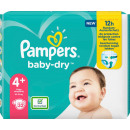 pampers baby dry size 4 + 32