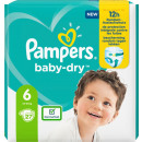 pampers baby dry size 6 27er