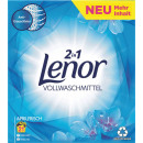 lenor wm powder april 21 wash loads