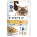 Perfect Fit sensitive 1 + chicken 85g btl bag