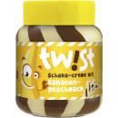 Großhandel Nahrungs- und Genussmittel: twist schoko + banane creme 400g Glas