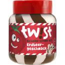 Großhandel Nahrungs- und Genussmittel: twist schoko + erdbeere creme 400g Glas