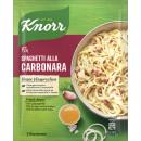 Knorr fix spaghetti carbonara bolsa 36g