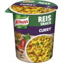 Großhandel Nahrungs- und Genussmittel: Knorr snack curryreis 87g Becher
