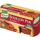Knorr Bouillon pure beef 6er