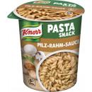 Großhandel Lebensmittel: Knorr snack nudeln pilz-rahm 70g Becher