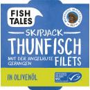 FishTales sj. Tuna in olive oil 142g can