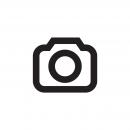 Női Basic T-Shirt Melange, kobalt-Off-White, 90%